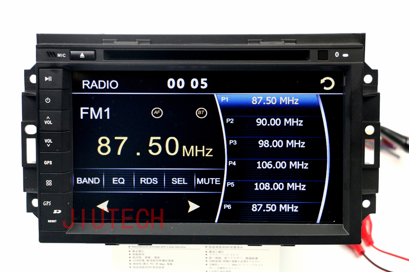 Car Stereo GPS player for Jeep Dodge Sat Nav DVD Player Radio/ Car headunit for Chrysler 300C Jeep Dodge GPS Navigation System(China (Mainland))