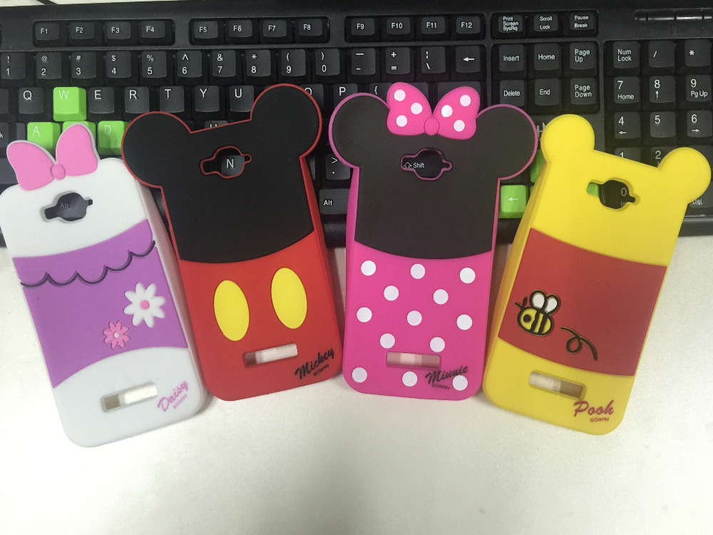 2015 New Hot Minnie Mickey Duck Winnie Alcatel One Touch POP C7 Case Soft Rubber Silicon Cover 7041D OT 7040D Free Shpping - All the Best Things store