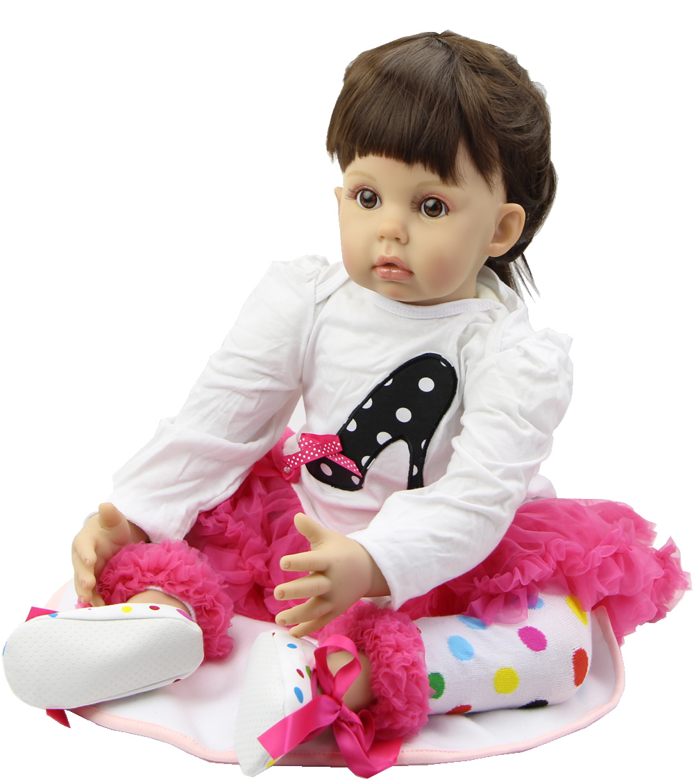 Baby New Year Gift 29inch Real Life Baby Doll Reborn Silicone Babies Handmade Doll Newborn Baby Toys For Girl Christmas Gift<br><br>Aliexpress