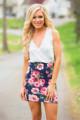 2015 Summer Autumn New Europe Women Casual Bohemian Floral Sleeveless Vest Printed Beach Chiffon Dress Femininas