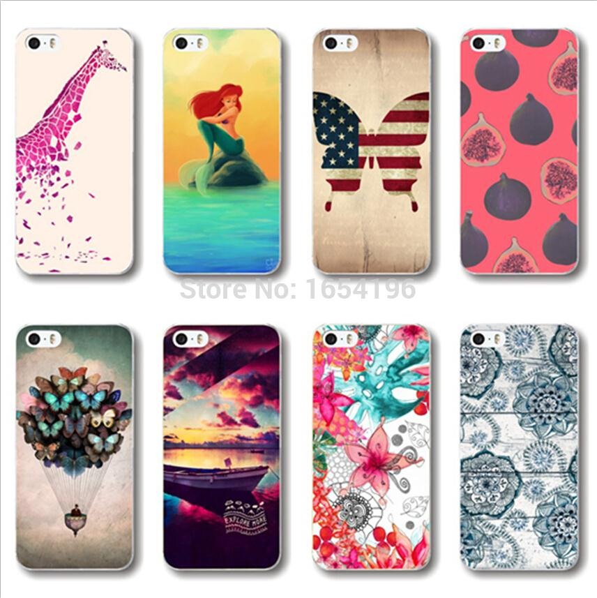 Popular Cases For Motorola Moto X Little Mermaid For iPhone 5S 6 Plus Covers For Samsung Galaxy S4 S5 Mini S6 For LG G3 NEXUS 5(China (Mainland))
