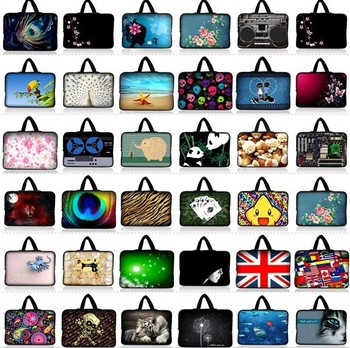 """Universal 14"""" Soft Laptop Sleeve Case Bag Cover+Hide Handle For 14"""" Dell Alienware M14x,14"""" Sony VAIO/CW/CS"""