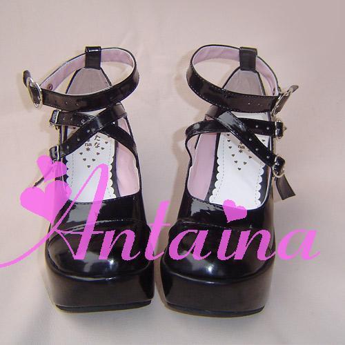 Princess sweet lolita gothic lolita shoes custom faddish 2002 noble queen of shoes(China (Mainland))