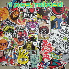1 piece Car styling on auto laptop sticker decal motorcycle fridge skateboard doodle stickers car accessories Pattern is random