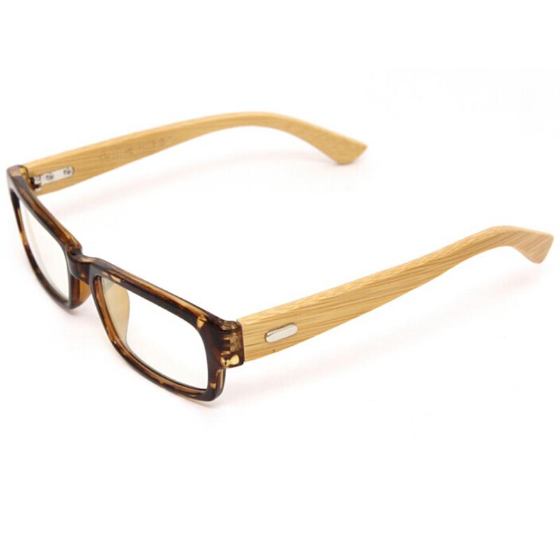 Glasses Frames Italy : Italy Designer Handmade Bamboo Eyeglasses Frame Clear Lens ...