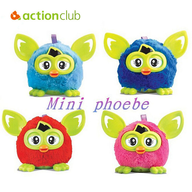 Electronic Talking Phoebe Firbi Elves Toys Recording Repeat Copy Voice Plush Kids Pet interactive toys firby