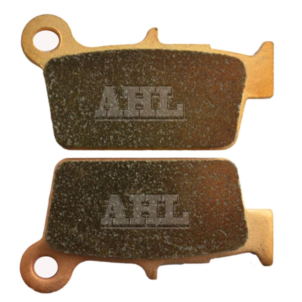 Motorcycle Parts Copper Based Sintered Brake Pads For KAWASAKI KX250F KX 250F 250 F KX250 F 2004-05 Rear Motor Brake Disk #FA367(China (Mainland))