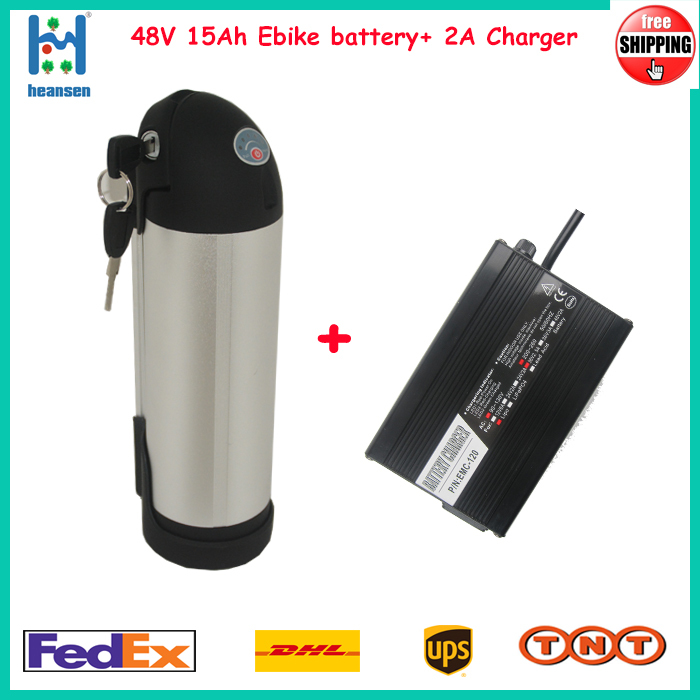 48V 15Ah kettle ebike battery within Samsung Cell 250W~800W electric bike +2A charger - ShenZhen Heansen Tech Co.,Ltd store