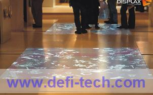 118 effectives Interactive floor projection system ,software+hardware(China (Mainland))