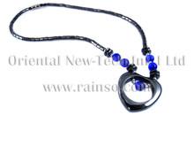 Rainso Dropshipping 2019 Mode Vrouwelijke Gezondheid Hematiet Kralen Ketting Voor Vrouwen Sieraden Liefde Soort Classic Link Chain OHN-132(China)