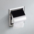 2016 New Toilet Paper Holders Bathroom Accessories Wall Mount Concealed Toilet Paper Box w Cover