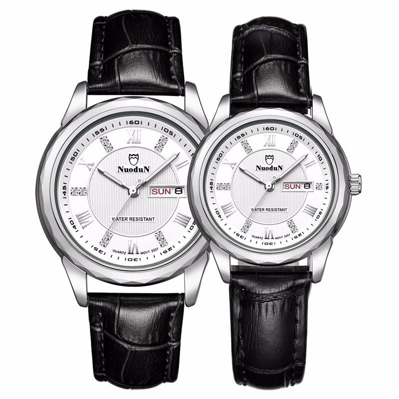 Мода Роскошные Верхней Часовой Бренд Женщины Дамы Кварцевые Часы Водонепроницаемые Лучшие Кожаные Часы Для Женщин Часы Horloges Vrouwen
