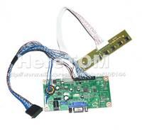 VGA Input LCD Controller board tester kit For LP156WH2 LP156WH3 LP156WH4 TLA1 TL A1 B156XW02 B156XW03 DIY Monitor 1366*768