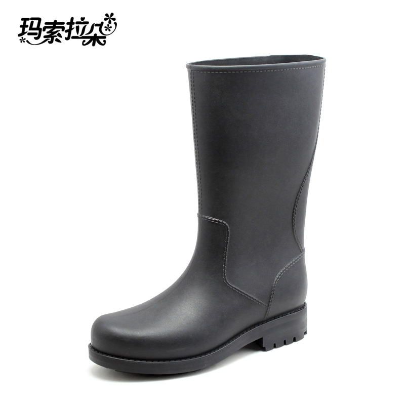 2016 new winter rubber rain boots fishing boots german for Waterproof fishing boots