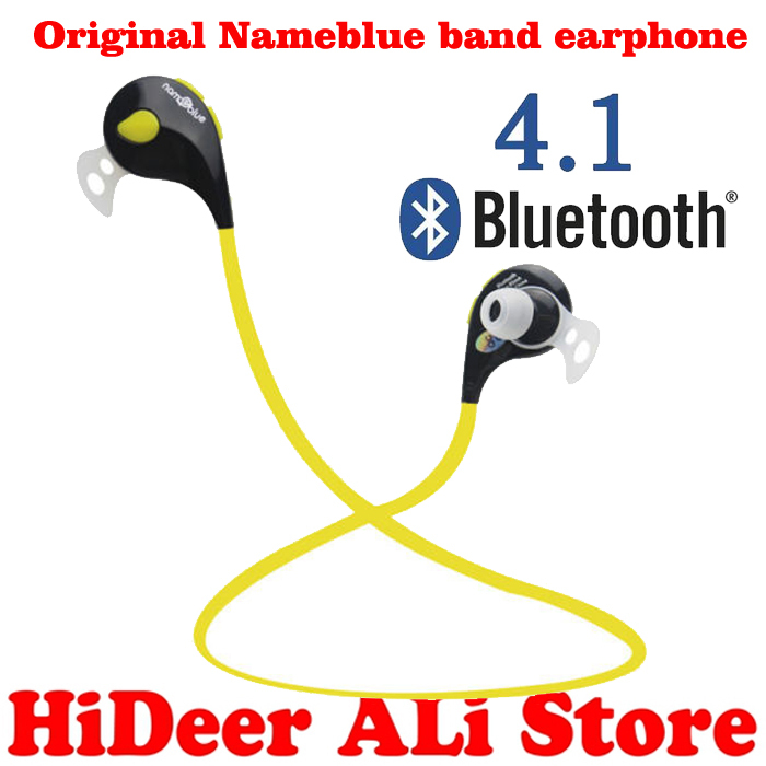 newest 2015 bluetooth headset nameblue t1 stereo blutooth headset wireless headphone answer call. Black Bedroom Furniture Sets. Home Design Ideas