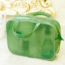 1 PCS M Size Mesh Wash Bag Cosmetic Cases Waterproof Coating Large Capacity Portable Travel Storage Bag Organizers Parts Supply(China (Mainland))