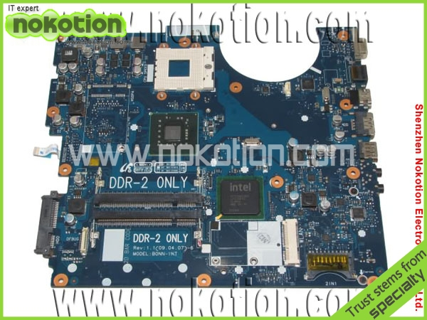 BA92-05528A Laptop Motherboard for samsung R520 R522 R620 Intel GM45 integrated DDR2 RAM Mainboard Mother Boards Full Tested(China (Mainland))