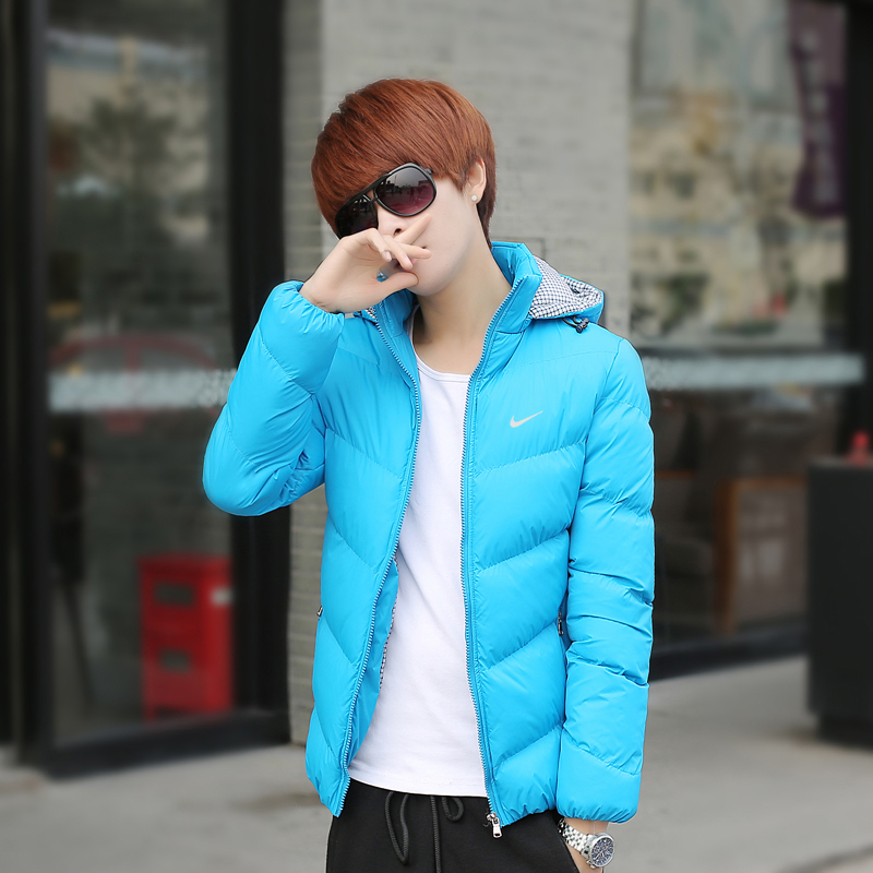 Young men warm thick cotton-padded clothes male winter jacket coat man thickening (outerwear) - jason liang's store