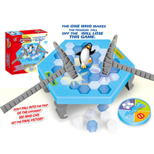 Buy un Toy Ice Breaking Save Penguin Great Family Fun Game One Make Penguin Fall Will Lose Game for $12.83 in AliExpress store