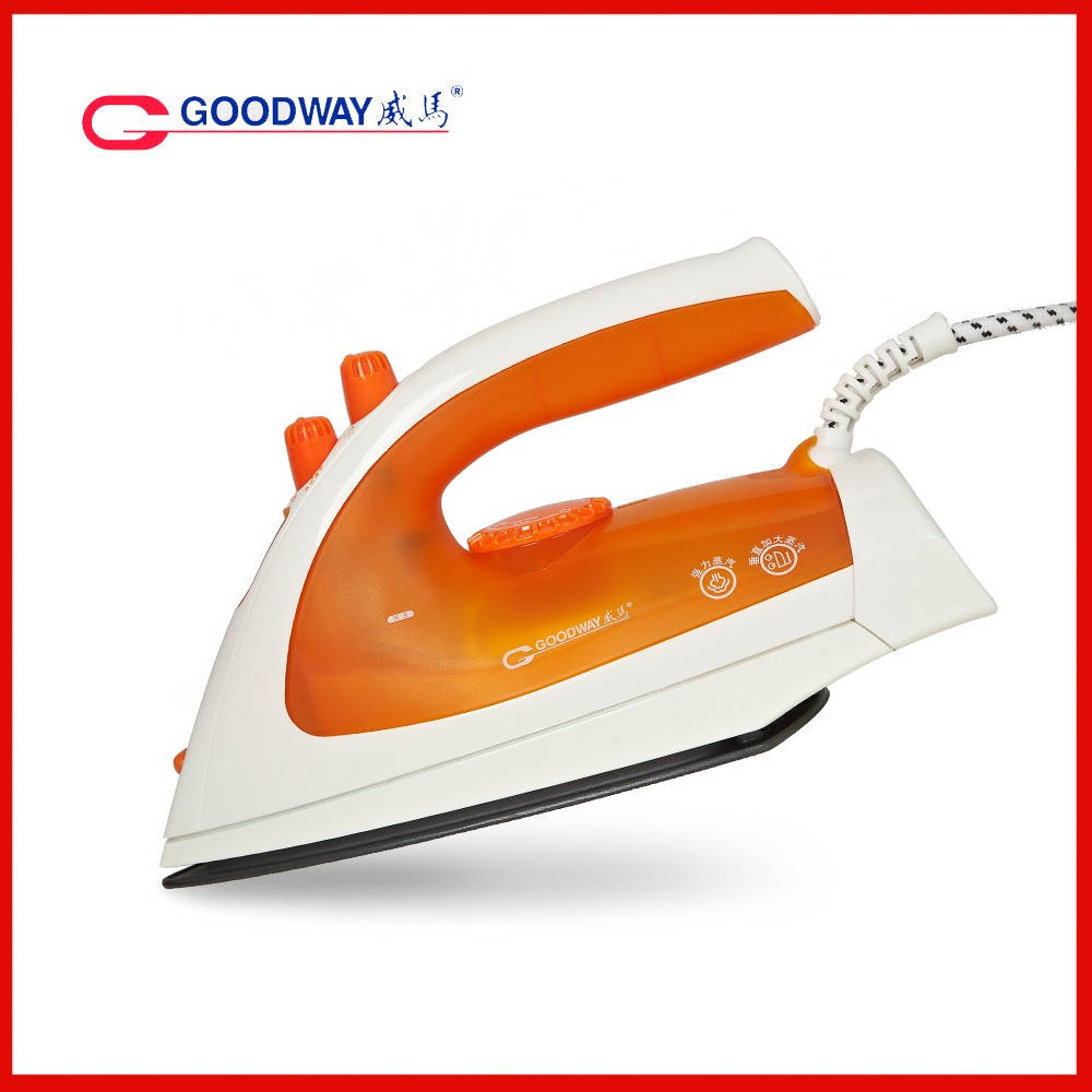 First Non Electric Steam Iron ~ Hongkong goodway household steam iron with non stick