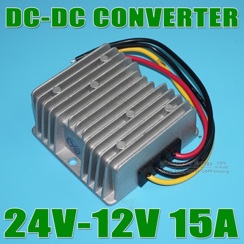 1, DC Converter 24V 12V 15A 180W Car Power - SolarHome Center store