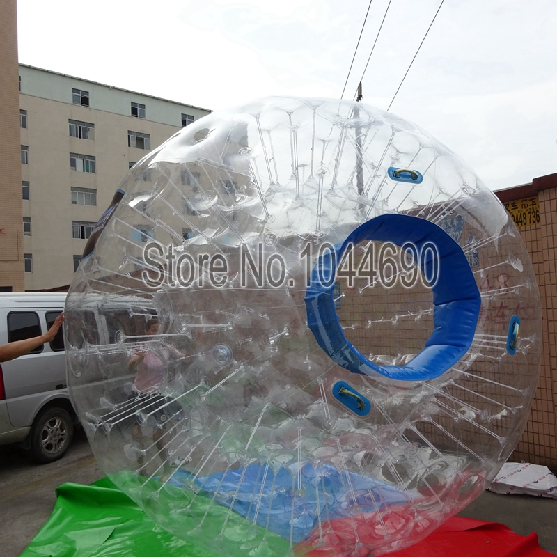 Top quality zorb inflatable ball,0.8mm pvc zorb ball phuket for event(China (Mainland))