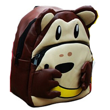 Children School Bag Lovely Cartoon Animal Backpack Cute Baby Toddler Kids Shoulder 2015 New Kindergarten Schoolbag(China (Mainland))