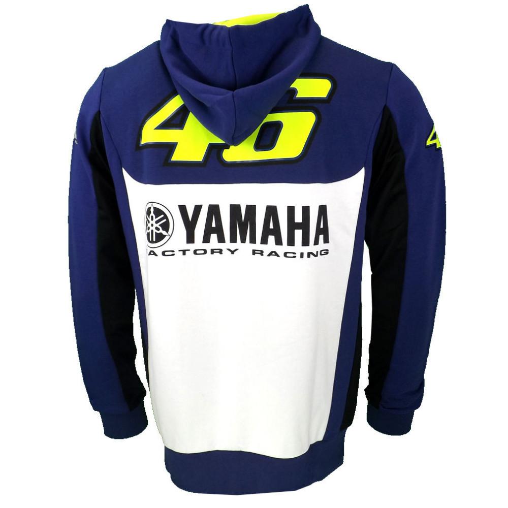 Купить 2016 Валентино Росси VR46 M1 Factory Racing Team Moto GP Взрослых Толстовка Спорт Толстовка Куртки Синий