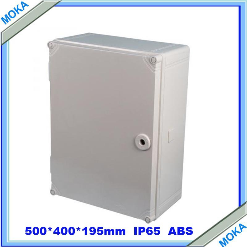Quality Product ABS Material IP65 Standard ip65 waterproof electrical junction box 500*400*195mm(China (Mainland))