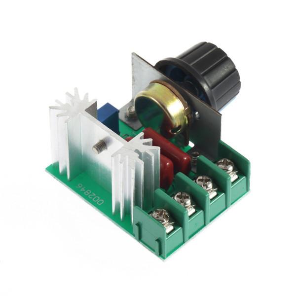 Гаджет  1pc 2000W 220V SCR Electronic Voltage Regulator Module Speed Control Controller Newest None Электронные компоненты и материалы