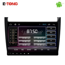 New!10.1″ big screen car radio dvd player for vw polo with touch panel,android system, quad core,wifi function,OBD,Wifi 2