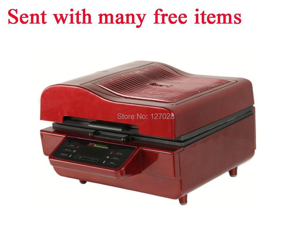 Good Cheap ST-3042 Digital 3D Sublimation Heat Transfer Machine 3D Vacuum Heat Press Machine for Cases Mugs Plates Wine Glasses(China (Mainland))