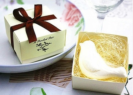 Free shipping wedding love bird soap gift wedding souvenirs wedding event and party decorations return gift for guests(China (Mainland))