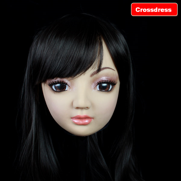 SH-5 2015 new silicone masks female crossdress realistic shipping - Royal Material Technology Co., Ltd store