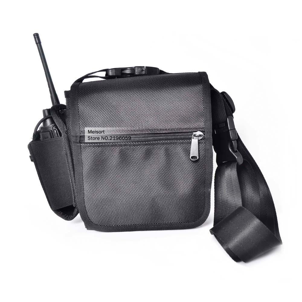 Walkie Talkie Radio Chest Pocket Pack Backpack Holder Case Cover Bag For Baofeng/Kenwood/Yaesu/Icom/Motorola Handheld Ham Radio(China (Mainland))