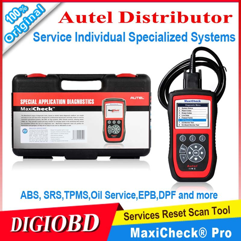 2015 New Arrival Autel MaxiCheck Pro EPB/ABS/SRS/TPMS/DPF/Oil Service/Airbag Rest tool Diagnostic Function free online update(China (Mainland))