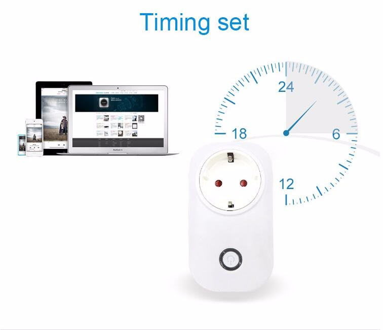 image for Itead Sonoff S20 Wifi Wireless Remote Control Socket Smart Timer Plug