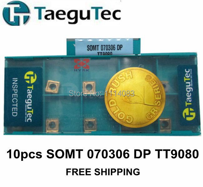 SOMT 070306 DP TT9080 10pcs/lot TaeguTec Top Drill Inserts Free Shipping<br><br>Aliexpress