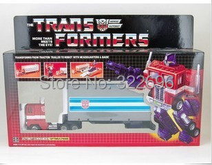 G1 Optimus Prime Container Commemorative Series Reissue Toys R Us Exclusive 2002 Robots Classic Toy Action Figure - TOYTime Co., Ltd. store