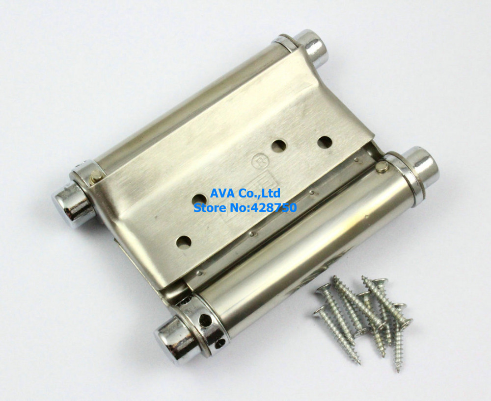"2 Pieces 3"" Double Action Spring Hinge Saloon Cafe Door Hinge Swing Western Door(China (Mainland))"
