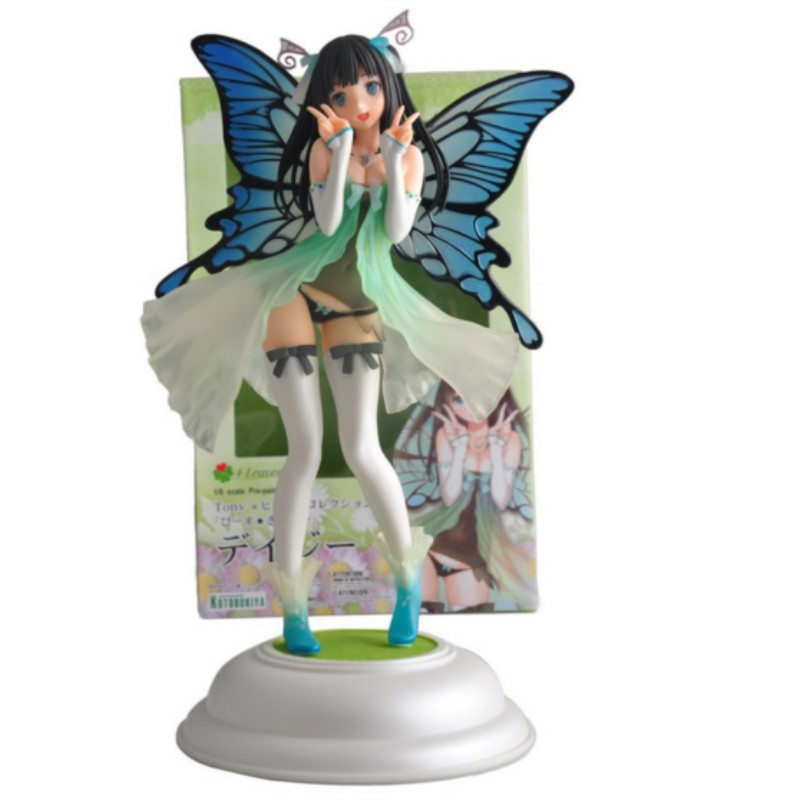 action figure sexy girl model toy Butterfly Fairy doll birthday gift for children kids 30cm(China (Mainland))
