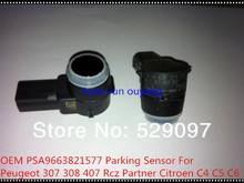 Бесплатная доставка PSA 9663821577 для Peugeot 307 308 407 Rcz партнер Citroen C4 C5 C6 датчик парковки OEM PSA9663821577