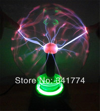 Novelty Items LED Magic Plasma Crystal Ball Lightning lamp Induction Night Lights Gift For Kids Home Party Outdoor Indoor Decor(China (Mainland))