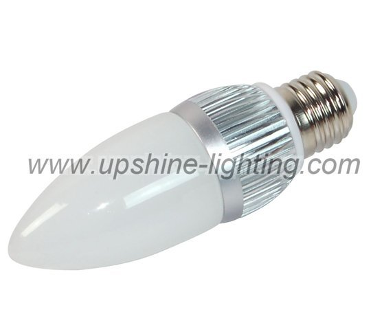 Triac Dimmable led bulb;3*1W;E27base;dimmable by a traditional dimmer;180-240lm;warm white color;SKX-BLE14-3W-E1