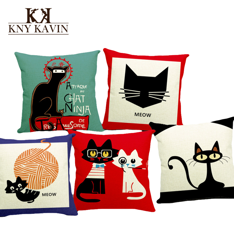 New 2016 european home decorative cushion lovely cats for New home products 2016