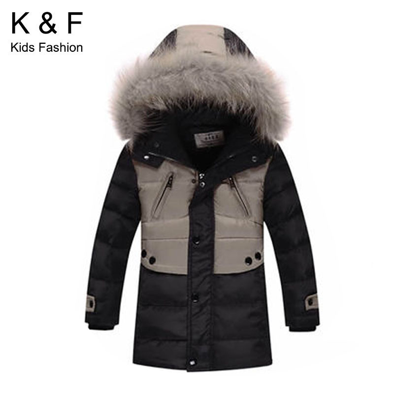Jacket 3-8Years Children's Winter Coats 2015 New Long Kids Reima Patchwork Warm Parka Teenage Boys - China Top One Online Store store