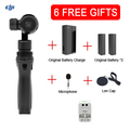 DHL EMS Free DJI OSMO Handheld 4K Camera and Stabilizer Original 3-Axis Gimbal phantom 3 Newly Hot product Free Gifts