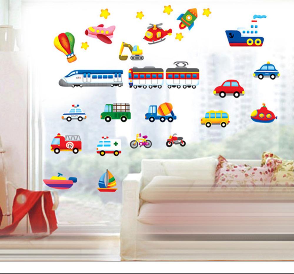 Cars Tapeten Kinderzimmer : Cartoon auto Kinderzimmer dekoration wandsticker f?r Kinderzimmer
