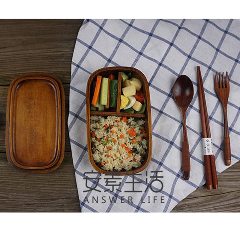 450 milliliter japanese eco friendly bento boxes wood lunch box single wooden tableware bowl. Black Bedroom Furniture Sets. Home Design Ideas