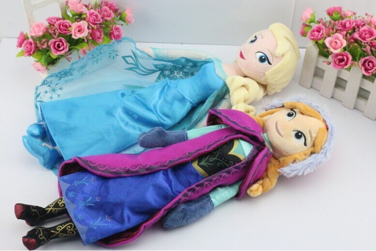 Princess Elsa plush Anna Plush Doll Toy Toys Brinquedos Kids Dolls for Girls  4